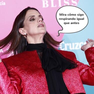 """La verdad que se esconde tras la """"operación"""" de nariz de la actriz Macarena Gómez"""