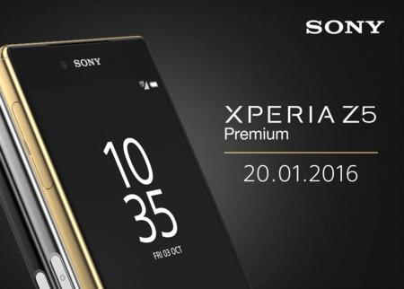El Sony Xperia Z5 Premium será presentado en México el 20 de enero de 2016