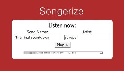 Songerize, escucha ese tema musical que no te acuerdas bien de él