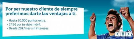 Reconvertido programa de puntos de Movistar