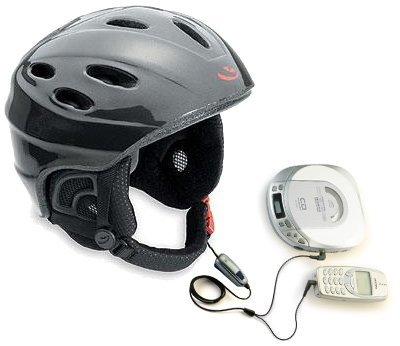 Casco para bici/moto con el que se puede escuchar música