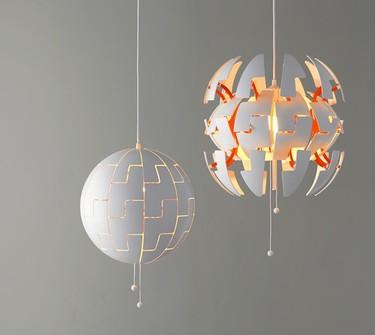 ¿Qué tienen en común los paneles de Swarovsi y la lámpara de techo PS 2014 de IKEA?