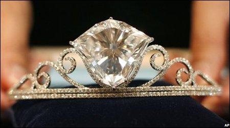 Shizuka Diamond, el mayor diamante blanco subastado en los últimos 20 años