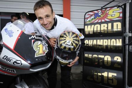 Johann Zarco Moto2 World Champion