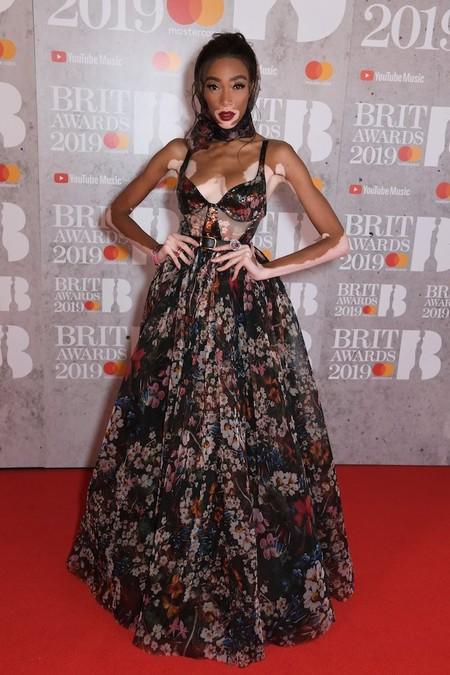 winnie harlow brit awards 2019