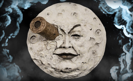 The Moon Of George Melies Statue Wall Plaque Infinite Statue Feature 902602