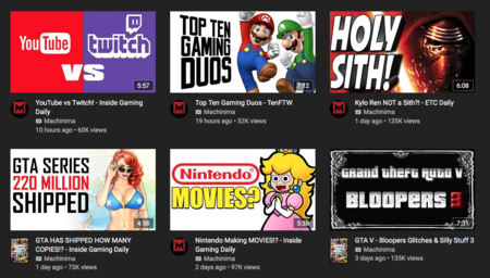 Gaming Youtube