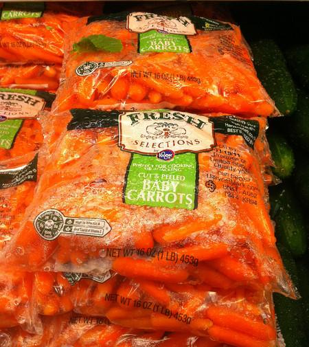 Las zanahorias baby son bonitas, pero ¿son buenas?