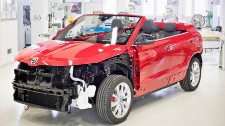 Škoda Karoq Cabrio Concept, ¿otro que se une a la fiesta de los SUV descapotables?
