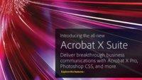 Acrobat X Suite: Adobe presenta la décima versión de la familia Acrobat