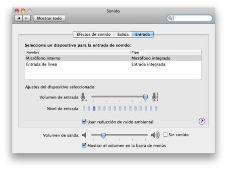 Cambia rapidamente las entradas y salidas de audio de tu Mac