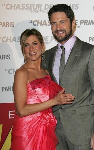 Jennifer Aniston y Gerard Butler: lo suyo está que echa chispas