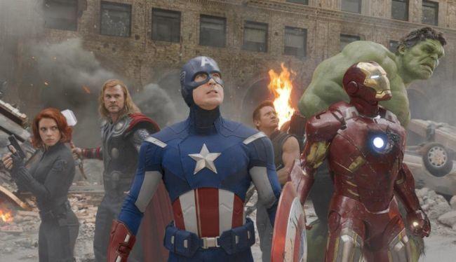 Los protagonistas de Los Vengadores (The Avengers)