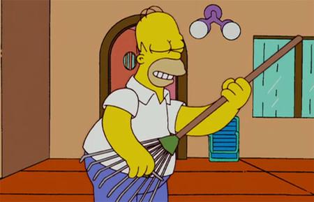'Los Simpson' no se desgastan