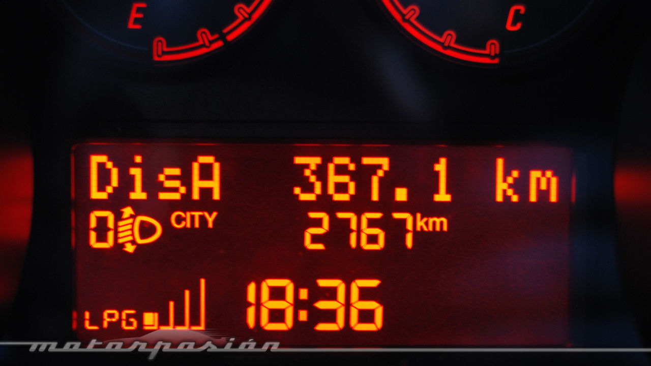 Fiat Punto 1.4 GLP (prueba)