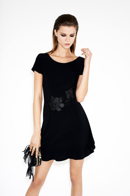 Zara lookbook diciembre: pensando en blanco y negro
