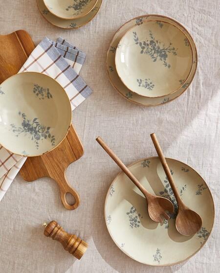 Las vajillas más bonitas de Zara Home, Maisons du Monde y H&M Home para tener un efecto wow en tu mesa
