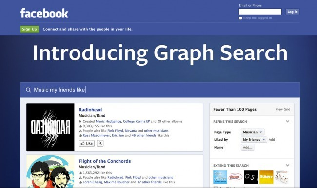 Los retos de Facebook Graph Search