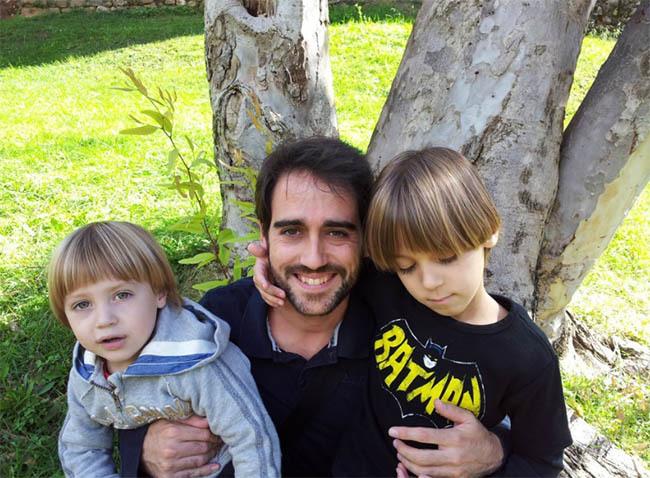 Papá, Jon y Aran