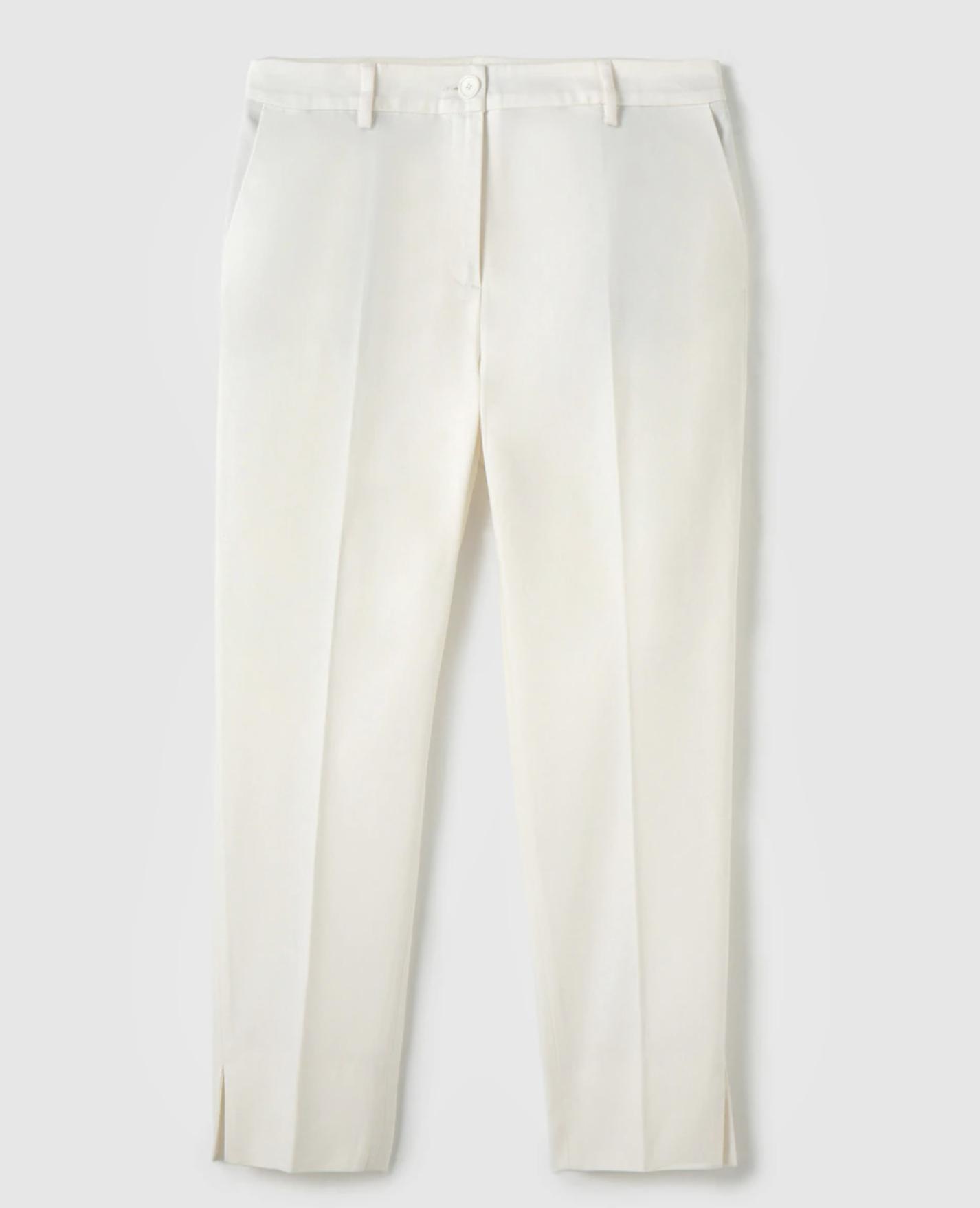 Pantalón pitillo de mujer Woman Collection con cierre delantero
