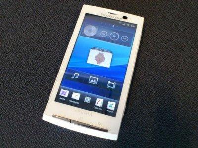 ¡Sorpresa! Sony Ericsson Xperia X10 tendrá actualización a Gingerbread