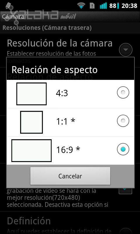 Foto de Camera MX de Magix para Android en imágenes (15/20)