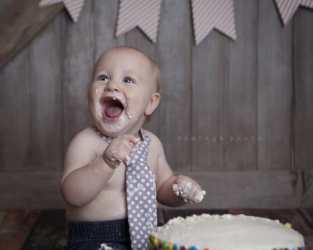 Tarta cumpleaños bebé