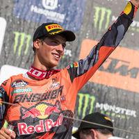 ¡Histórico! Jorge Prado ya es Campeón del Mundo de MX2 debido a una lesión de Pauls Jonass