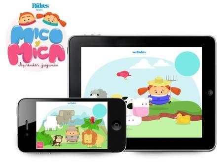 Mico y Mica para que los más pequeños aprendan los animales de la selva, de la granja y del mar
