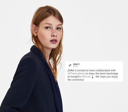 Zara da la campanada y su ropa se colará en la gala de los Oscar