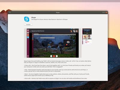 El nuevo Skype ya está disponible como un paquete snap para Ubuntu