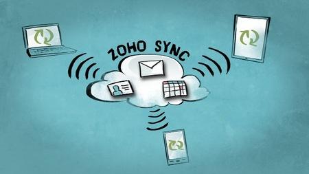 Zoho Sync mejora la sincronización y notificaciones de correo con móviles