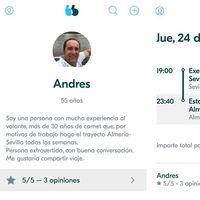 ¿Pueden los políticos abrir viajes en BlaBlaCar? El caso del diputado andaluz que ha dimitido por ello