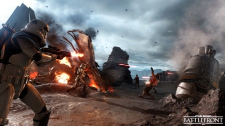 El 8 de octubre nos veremos las caras en la beta abierta del Star Wars Battlefront
