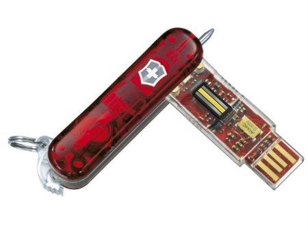 Victorinox, los de las navajas, tienen un pendrive de 1 TB