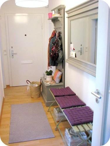 Un pasillo como recibidor
