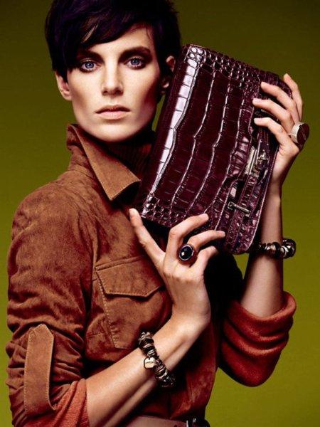 Uterqüe colección de octubre otoño 2011 con Iris Strubegger: estilo formal