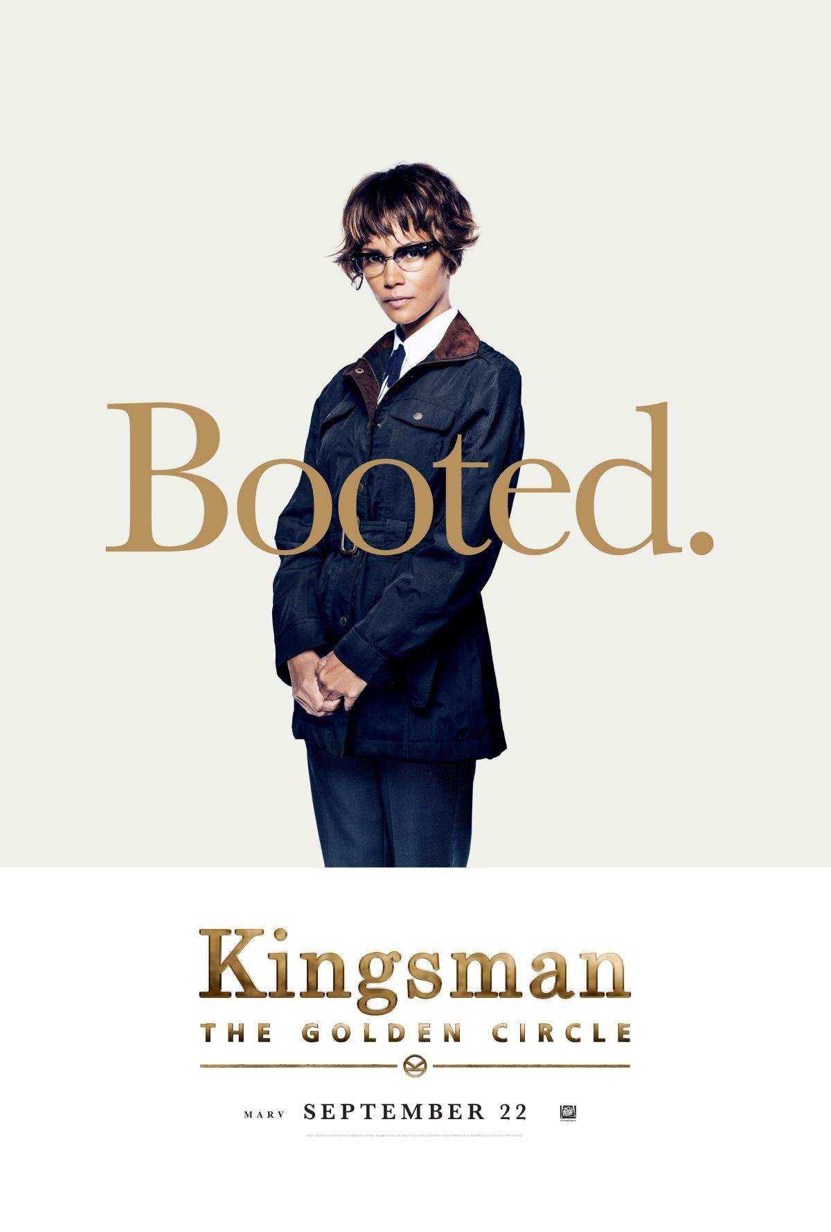 Foto de Carteles de los protagonistas de 'Kingsman: El círculo de oro' (4/8)