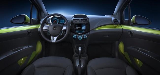 Mejores interiores según Ward's Auto 2013 - Chevrolet Spark