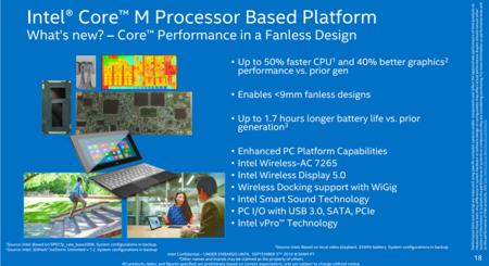 Intel Core M Fanless Design