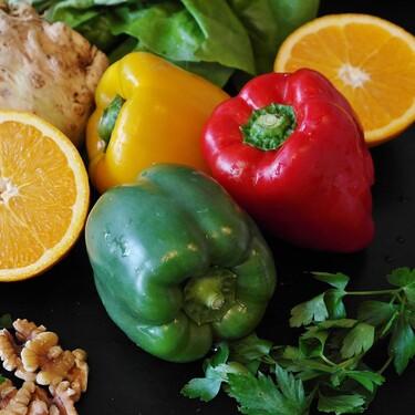 ¿Cuál es la diferencia entre los pimientos verdes, rojos, amarillos y naranjas?