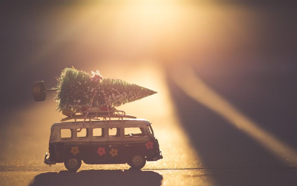 Regalo Navidad furgoneta