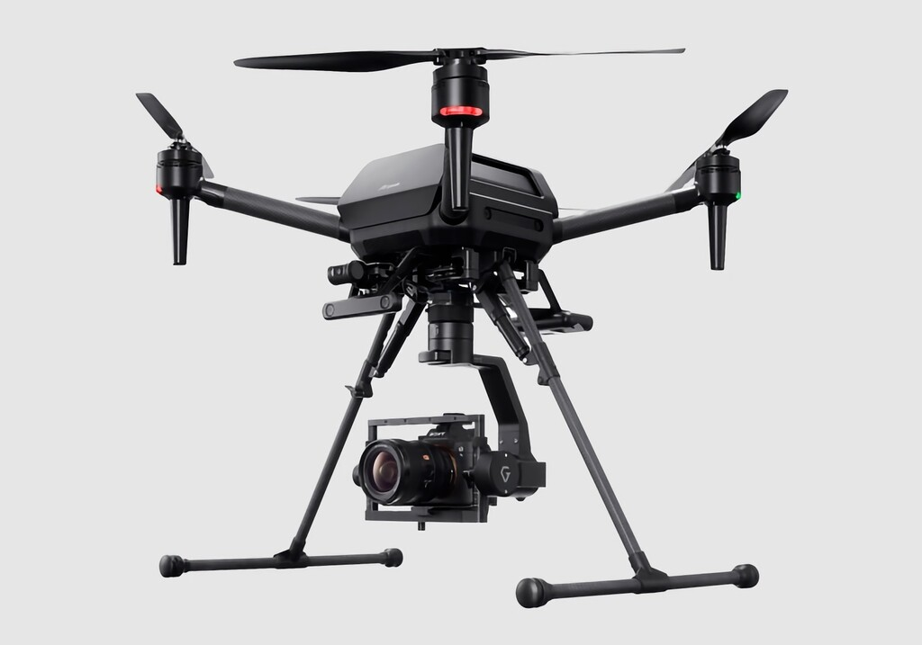 El primer drone de Sony cuesta 9.000 dólares y puede llevar una cámara full frame a más de 70 km/h