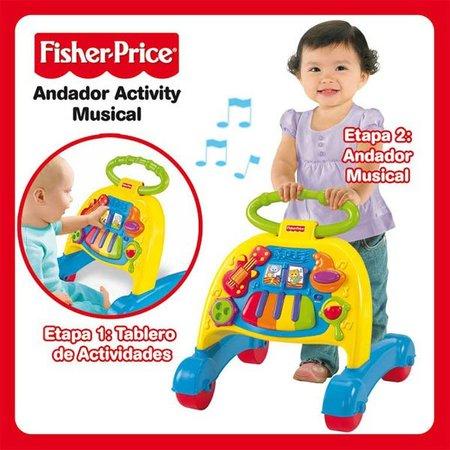 Los 10 juguetes más queridos: andador activity musical, sus primeros pasos