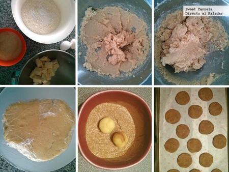 Preparacion snickerdoodles