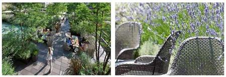 Se inaugura el Jardín Mimosa de Mandarin Oriental, Barcelona, un oasis en la ciudad