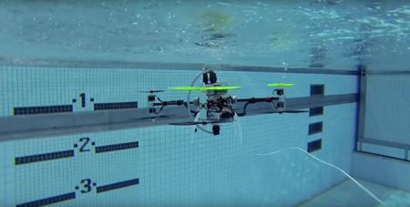 Así es el primer dron sumergible