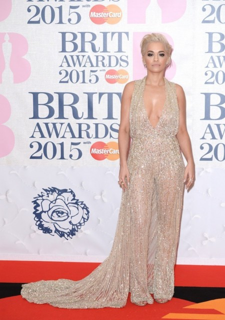 Rita Ora Brit Awards 2015 1