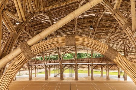 Bamboo Sports Hall 8