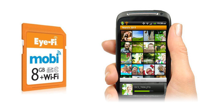 Eye-Fi Mobi envía las fotos directamente a tu smartphone o tablet